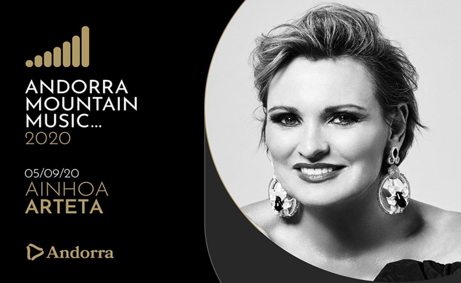 Ainhoa Arteta Concert a 100 metros del Hotel Pyrénées SÁBADO 05-09-2020 20:00 Apertura puertas 19:00h
