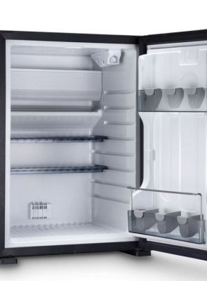 Optional room with small refrigerator